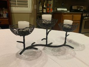 Candle center piece home decor for Sale in Moreno Valley, CA