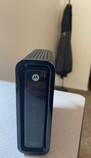 Motorola Surfboard SB6141 Docsis high speed modem for Sale in Scottsdale, AZ