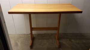 PRICE REDUCED! All wood counter height table. for Sale in Gahanna, OH