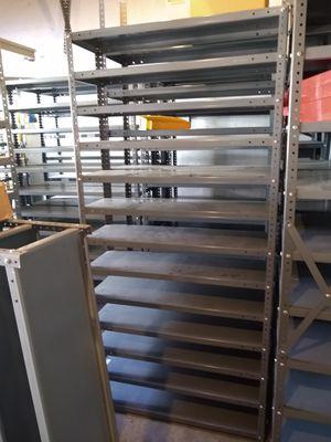 Warehouse metal shelves use for garage workshop for Sale in Waterbury, CT
