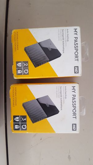 WD Hard Drive for Windows (MAC compatible ) for Sale in Gardena, CA