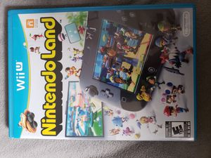 Wii u Nintendo land for Sale in San Antonio, TX