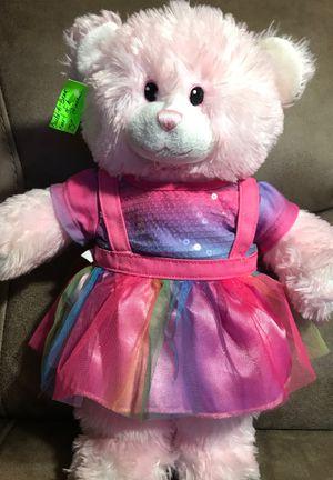 "14"" build a bear stuffed animal $30 for Sale in Menifee, CA"