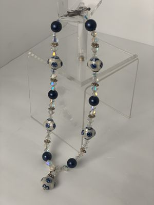 WOMEN'S | HANDMADE CRYSTAL BEADED NECKLACE for Sale in Tempe, AZ