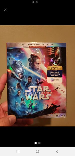 Star Wars rise of skywalker blu ray combo brand new sealed with slip cover for Sale in Buena Park, CA