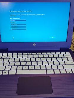"""Purple HP Stream 11.6"""" Laptop for Sale in Lantana,  FL"""