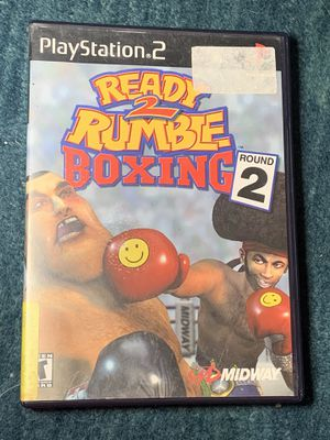 Ready 2 Rumble boxing round 2 PS2 for Sale in Riverside, CA
