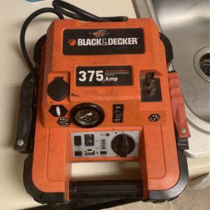Black & Decker Juno Starter Compressor 375 Amp for Sale in Belen, NM