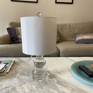 Fine crystal lamp for Sale in Brooklyn, NY