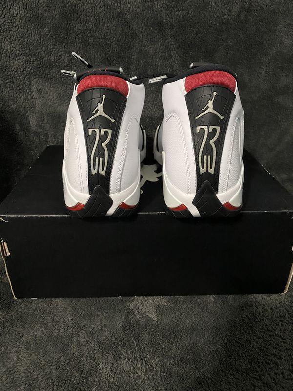 Jordan 14 black toe size 8.5