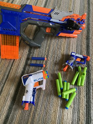 Nerf guns, lot of 3. crossbolt and 2 others for Sale in Laguna Beach, CA
