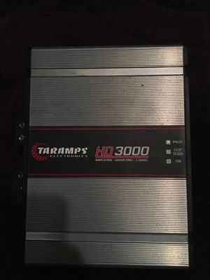 Taramps 3k amp oh1 for Sale in Cleveland, OH