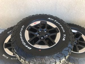 2019 Jeep Rubicon JL wheels & Tires for Sale in Corona, CA