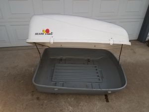 Cargo shell for top of car! for Sale in Fresno, CA