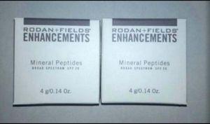 Lot of 2 RODAN & FIELDS ENHANCEMENTS MEDIUM MINERAL PEPTIDES BROAD SPECTRUM SPF20 for Sale in Glendale, AZ