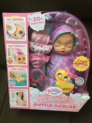 New baby born surprise doll for Sale in La Vergne, TN
