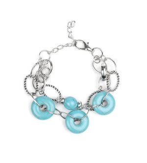 Simply Santa Fe Turquoise Stone Bracelet for Sale in White Pine, TN