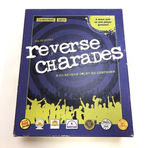 Reverse Charades Game A Hilarious Twist on Charades Party Family Card Board for Sale in Richmond, VA