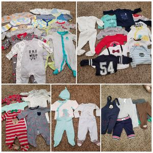 0-3 months baby boy winter clothes for Sale in Tolleson, AZ