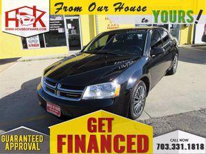 2013 Dodge Avenger for Sale in Manassas, VA