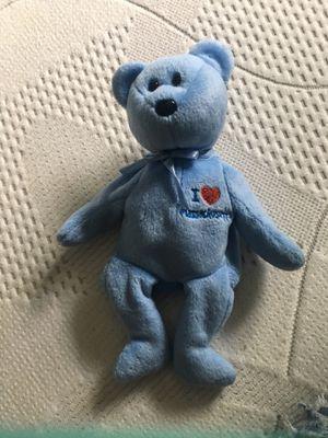 I love Massachusetts beanie baby bear for Sale in Beaverton, OR