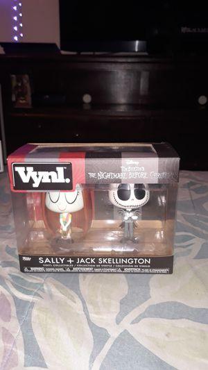 Jack skellington and sally for Sale in Lynwood, CA