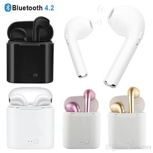 Bluetooth Earbuds Mini wirelessly Earphones Headset with Mic Stereo V4.2 Headphone for Iphone Android With Charge box for Sale in Willingboro, NJ