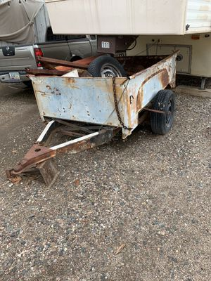 Solid utility trailer with permanent plates and title in hand for Sale in Phoenix, AZ
