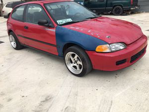 1995 Honda Civic hatchback part out for Sale in San Antonio, TX