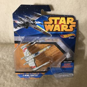 Hot Wheels Star Wars X-Wing Fighter Red 5 for Sale in Anchorage, AK