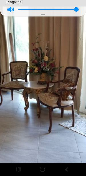 Antique dining chairs MAKE REASONABLE OFFER for Sale in Marianna, FL