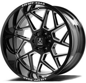 22x12 nemesis blk n milled 8x165 8x170 for Sale in Dixon, CA