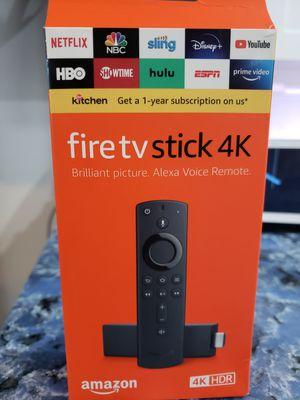 Fire tv stick 4k_/No està programado. for Sale in Los Angeles, CA