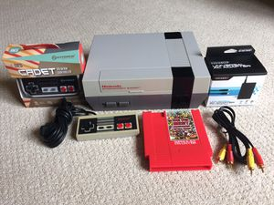Refurbished Nintendo with 143 games in 1 Cartridge for Sale in Rogers, MN