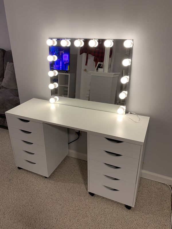 Vanity With Led Lights