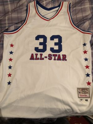 100% Authentic Larry Bird All Star Jersey (2XL) for Sale in Herndon, VA