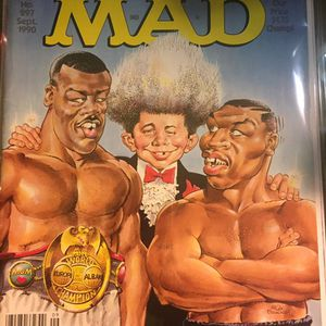 Tyson And Buster Douglas Mad Magazine for Sale in San Antonio, TX