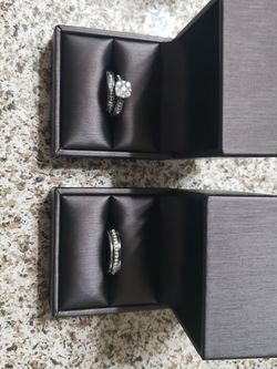 Kevin Jewelry White Mtl, 14k Rings, Size 10 And 7 for Sale in La Mirada,  CA