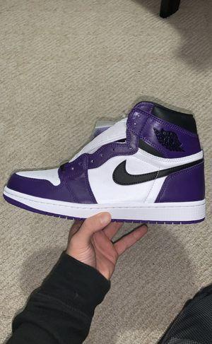 Jordan 1 Court Purple for Sale in Troy, MI