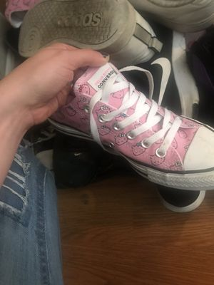 Hello kitty converse for Sale in Columbus, OH
