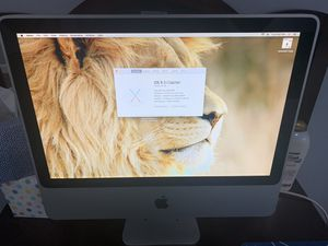 iMac with wireless keyboard and mouse for Sale in Hesperia, CA