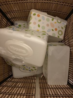Empty Huggies Wipes containers for Sale in Solon, OH