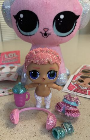 LOL Doll just opened and LOL Plush Kitty for Sale in Gilbert, AZ