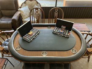 Poker/ Dining Table Solid Wood for Sale in Plant City, FL
