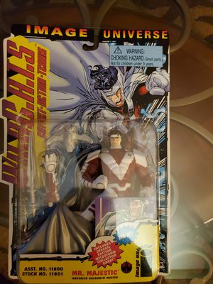 WildC.A.T.S Mr. Majestic 1995 Vintage Figure Sealed NIB for Sale in Nuevo, CA
