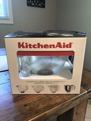 Kitchen Aid 5-Quart Bowl for Sale in Alexandria, VA
