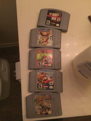 Nintendo 64 games for Sale in Scottsdale, AZ