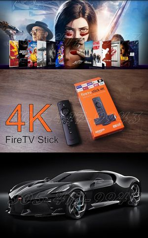 🇺🇸 All New 4K Amazon Fire 🔥 TV 📺 Stick Loaded ~Movies Sports Music Live Worldwide IPTV~ More Power No Limits ~ Leia v18 for Sale in Miami, FL
