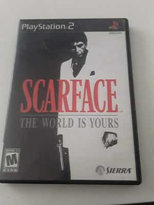 Scarface ps2 for Sale in Las Vegas, NV