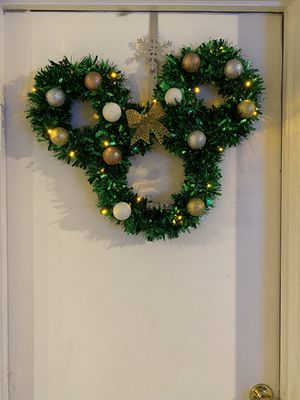 Disney inspired wreath for Sale in Antioch, CA